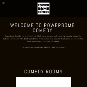Power Bomb Comedy