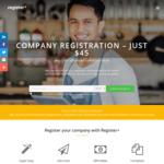Register+ Company Registration