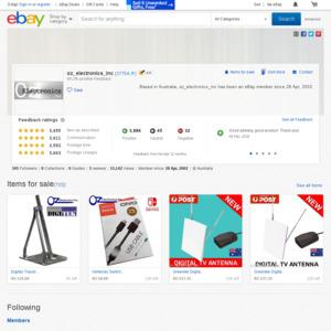eBay Australia oz_electronics_inc