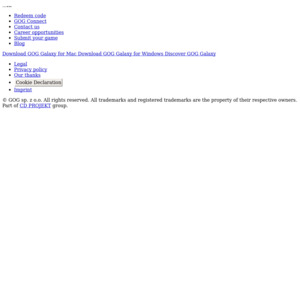 PC] [GOG com] 13 Free Games from GOG com on Signup - OzBargain
