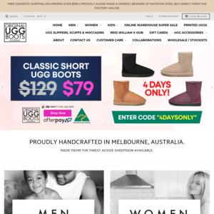 ed0be50db56 Factory Sale @ Original UGG Boots St Braeside VIC, Sat 28/11, Short ...