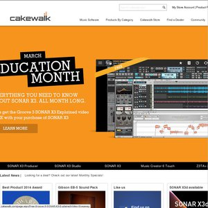 Cakewalk SONAR LE 8 5 Studio Upgrade - $1 99 Download
