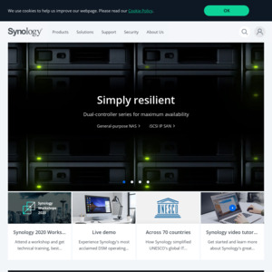 NAS Synology DS918+ and 4TB Seagate HDD $550 @ Synology - OzBargain