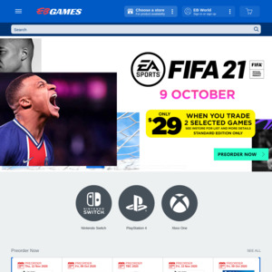 EB Games Promotional Codes & Deals