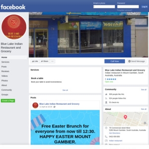 Blue Lake Indian Restaurant and Grocery