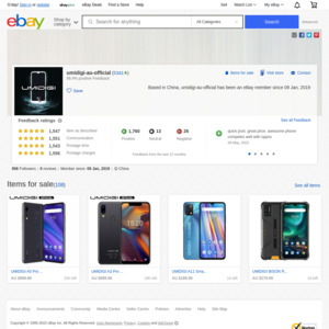 eBay Australia umidigi-au-official