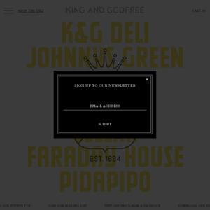 kingandgodfree.com