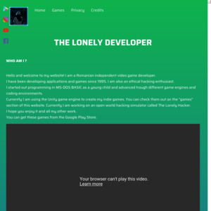 The Lonely Developer