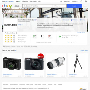 eBay Australia sunstudiosaustralia42