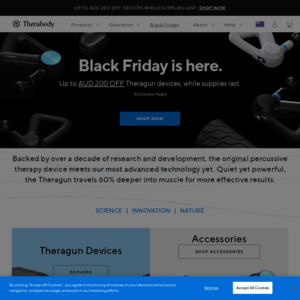 Black Friday Sale Theragun G3pro Muscle Treatment Device