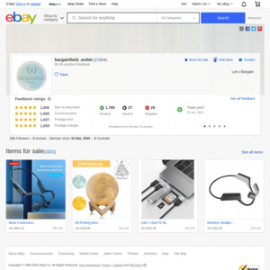 eBay Australia bargainfield_outlet