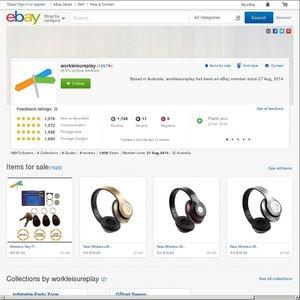eBay Australia workleisureplay