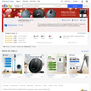 eBay Australia proscenicstore