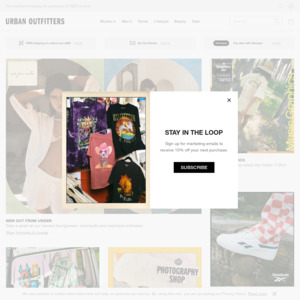 50 Off All Men S Sale Items At Urban Outfitters Free Delivery To