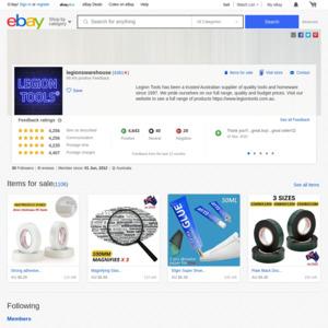 eBay Australia legionswarehouse