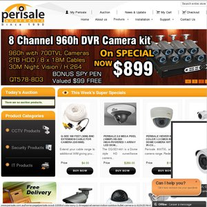 Q-SEE 8 Channel 8 Camera 960h DVR with 700TVL Cameras FREE