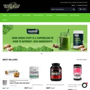 Discount Active Nutrition
