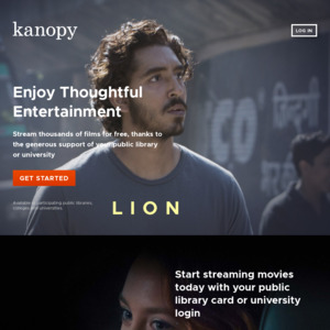 Free] Kanopy Streaming (Thoughtful Entertainment) - Free