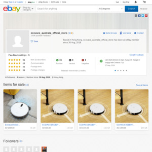 eBay Australia ecovacs_australia_official_store