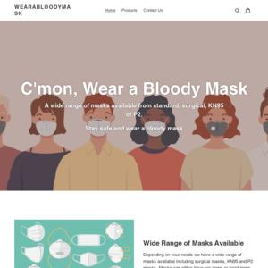 wearabloodymask.com.au