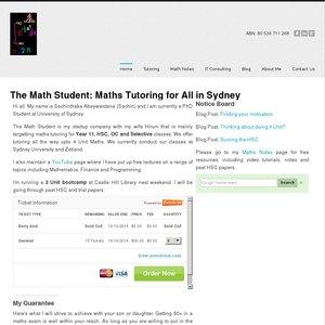 themathstudent.com.au