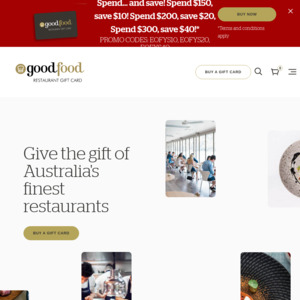 Good Food Gift Card