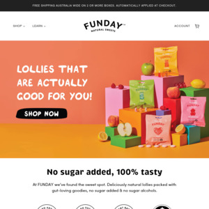 Funday Natural Sweets
