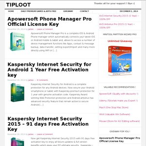 Kaspersky Mobile Security for Android 365 days Free Activation key