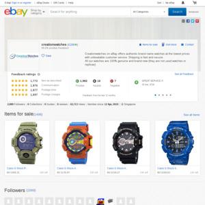 eBay Australia creationwatches