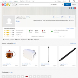 eBay Australia napf_electronics
