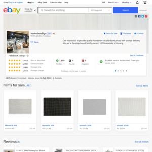 eBay Australia homebendigo
