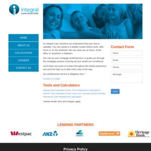 Integral Loan Solutions