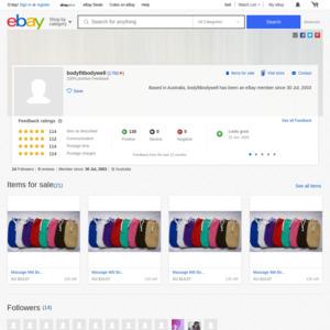 eBay Australia bodyfitbodywell