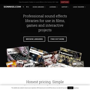 sonniss.com