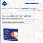 FREE Sample of Libra 'Hotties' Heat Patches