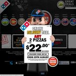 Domino's Traditional + Chefs Best Both $8 each
