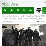 Gears of War FREE for Xbox Live Gold Members