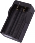 2 Battery Charger for 18650 Battery Black $1.88 at Tmart.ru