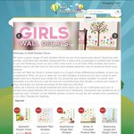 Save 10% on All Quote Wall Stickers, Prices Starting at $8 Plus $9.95 Courier Delivery @ WSDecor