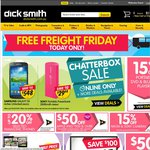 Up to 40% off Logitech G Series, $50 off iPhone 5s, 10% off Mac's + Free Shipping at Dick Smith