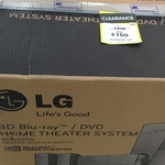 3D Home Theater System LG BH6220S - $150 (Was $338) & Sony BDVE190 - $200 (Was $348) @ Big W