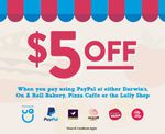 $5 off at Selected UQ Food Outlets When Paying with PayPal