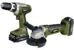 Rockwell Drill & Angle Grinder Kit 18V - $119 Free Shipping @ Supercheap Auto (Club Member Only)