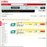 50% off: Emporia 4-Ply Toilet Tissue 6pk $2.24 (37c/roll), Cobram Estate EVOO 750ml $5.49 @ Coles