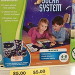 Leapfrog Tag Solar System Discovery Set $5 @ BigW (Possibly Pricing Error)