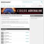 [WA] Cirque Adrenaline - A Reserve Lounge Seats - $69.90 (Save $39) @ Ticketmaster/Crown Club