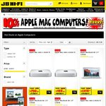 10% off Apple Mac Computers (Further 5% off with Officeworks Price Beat), Console Bundles from $399 @JB Hi-Fi