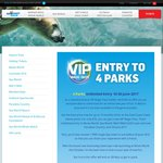 Village Roadshow (Movie World, Sea World, Wet'n'Wild, Paradise Country, QLD) 13 Month Pass $79 (Usually $109)