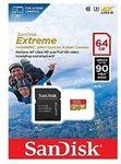 SanDisk Extreme 64GB Micro SD SDXC 90MB/s Class 10 4K U3 $36.76 Delivered @ PC Byte (eBay)