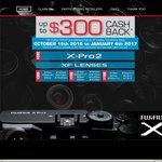 Fujifilm Australia CASH BACK Program Save up to $300 on Select Fujifilm X Series Products